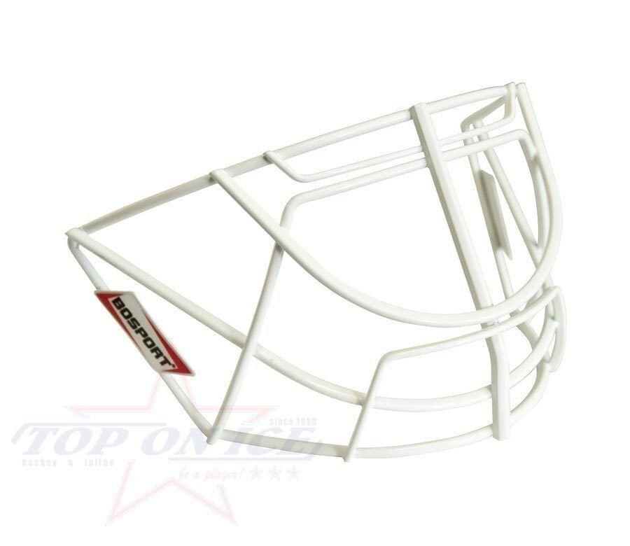Goalie Grid bosport BM101 (for Bauer NME Mask) White