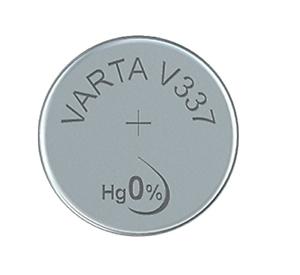 10x Varta V 337 Uhrenzelle 1,55 V