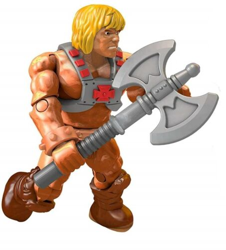 Ultra Rare Battle Axe Version He-Man Mega Construx Master of The Universe Heroes