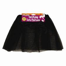 Black TuTu Kids Fishnet Gloves Boa New Years Eve Ballet 1980s Fancy Dress Small