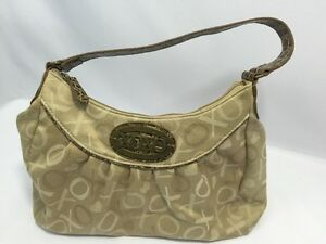 Image Is Loading Xoxo Purse Shoulder Bag Hobo Handbag Gold 1