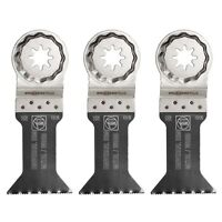 Fein Starlock 1-3/4'' W E-cut Universal Wood/metal Blade, 3-pack
