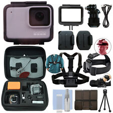 GoPro HERO7 White 10 MP Waterproof Camera Camcorder + Ultimate Action Bundle