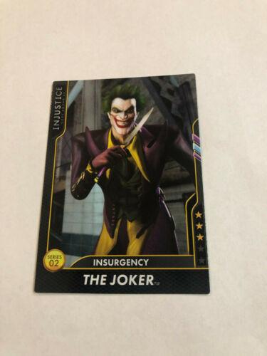 Injustice Arcade Cards Series Insurgency The Joker 48//110 Non-Foil