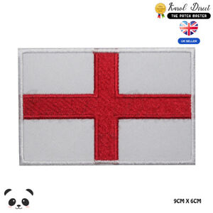 England-National-Flag-Embroidered-Iron-On-Sew-On-Patch-Badge-For-Clothes-etc