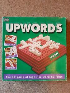 Charmant Upwords 3d Mot Building Board Game Par Parker-vintage 1994-complet-afficher Le Titre D'origine