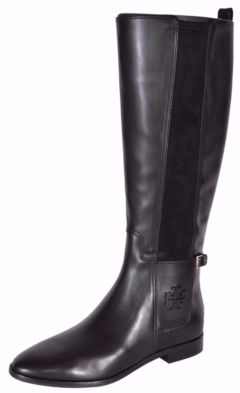 4479a7a84ffa Tory Burch Womens Wyatt Boot Black 8 for sale online