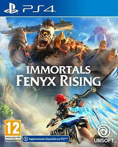 Gioco PS4 PS5 nuovo sigillato IMMORTALS FENYX RISING ita