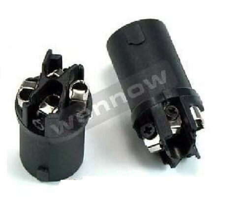 5 Pcs Conductor Speaker Cable Male Connector End for SPEAKON Audio Loudspeaker