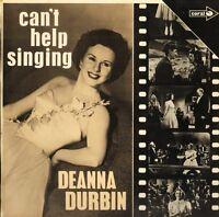 DEANNA DURBIN can't help singing CP 43 uk coral 1970 mono LP PS VG/VG+