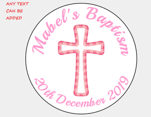 Personalised Stickers étiquettes d/'adresse Cercle Parti Guess How Much I Love You 1ST