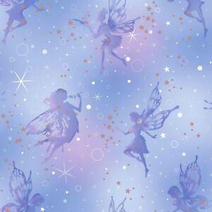 Etre-Ebloui-Fairy-Dream-Papier-Peint-Moondust-Coloroll-M1422-Paillette