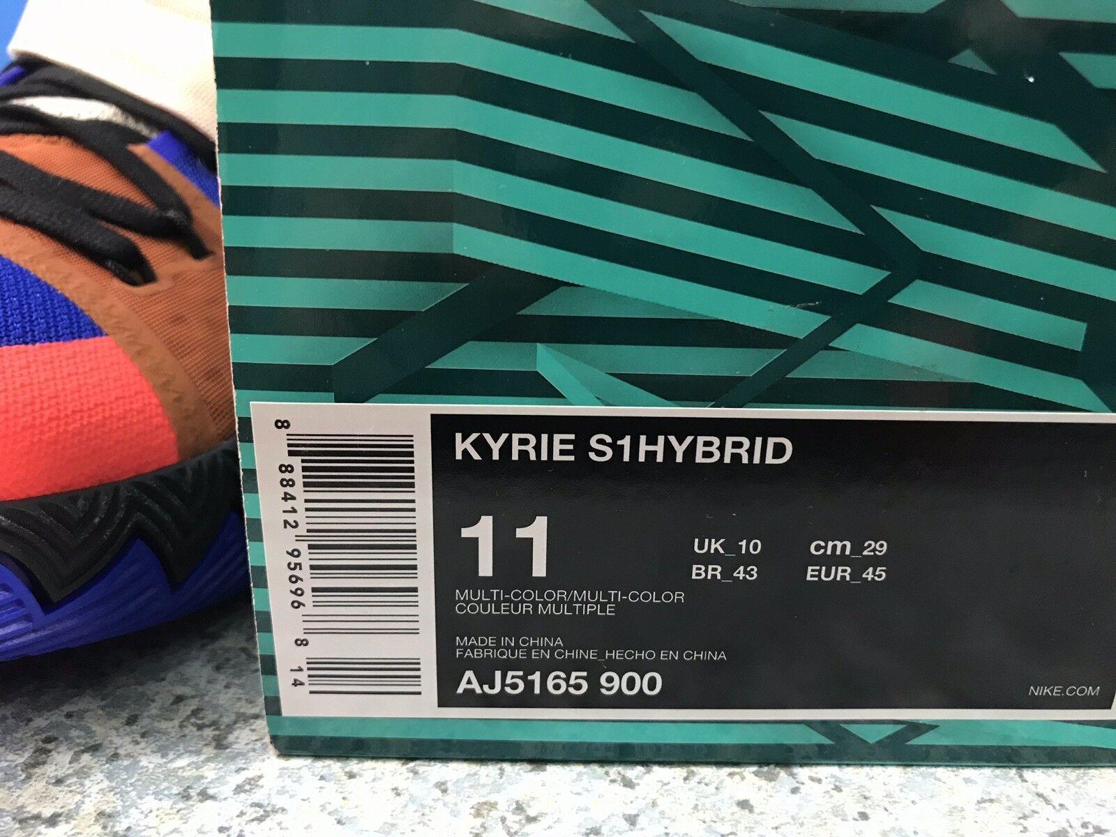 Nike Kyrie S1 What The Hybrid Hybrid Hybrid Sz 11 AJ5165-900 Vivid bluee Multicolor ACG 6b2767