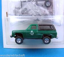 Trident Alpha H0 90056 CHEVROLET Blazer 4x4 Park Police PEP Chevy US HO 1:87