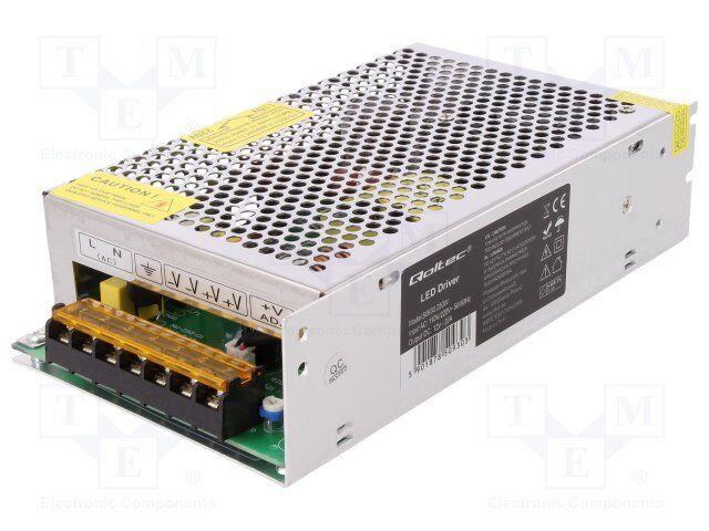 Netzteil  Impuls; LED; 250W; 12VDC; 10,8÷13,2VDC; 20A; 230VAC; IP20