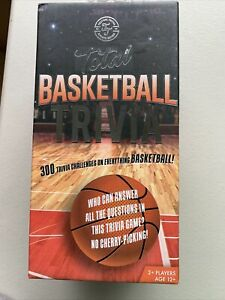 Total Basketball Trivia - Sports Series Testing Trivia - 300 Questions - New