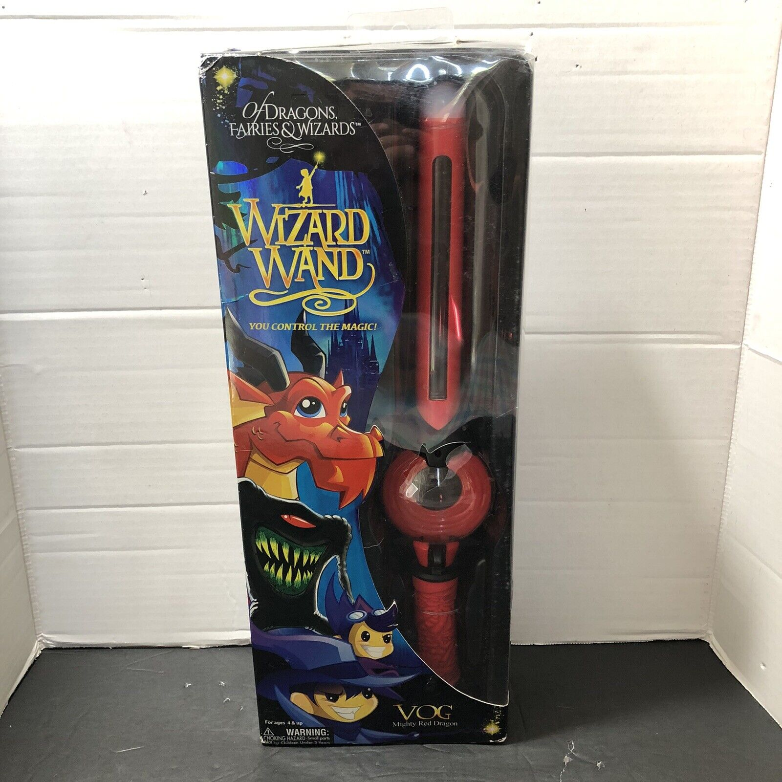 Wizard Wand by Toeless Rodent OOAK
