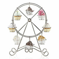 8 Riesenrad Becher Kuchen Standplatz Halter Dekoration Hochzeit Kuchengitter &7