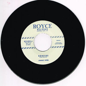 JIMMIE-PIPER-BONFIRE-I-MET-A-GIRL-Repro-Killer-1950s-ROCKABILLY-Bopper