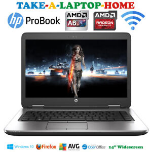 HP-ProBook-Laptop-AMD-A6-Radeon-Graphics-256Gb-SSD-8Gb-Ram-Windows10-BOXED