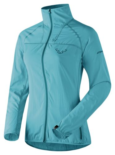 NEW Dynafit ENDURO DST SoftShell Blue Womens Large Hiking Running Jacket Ret$130