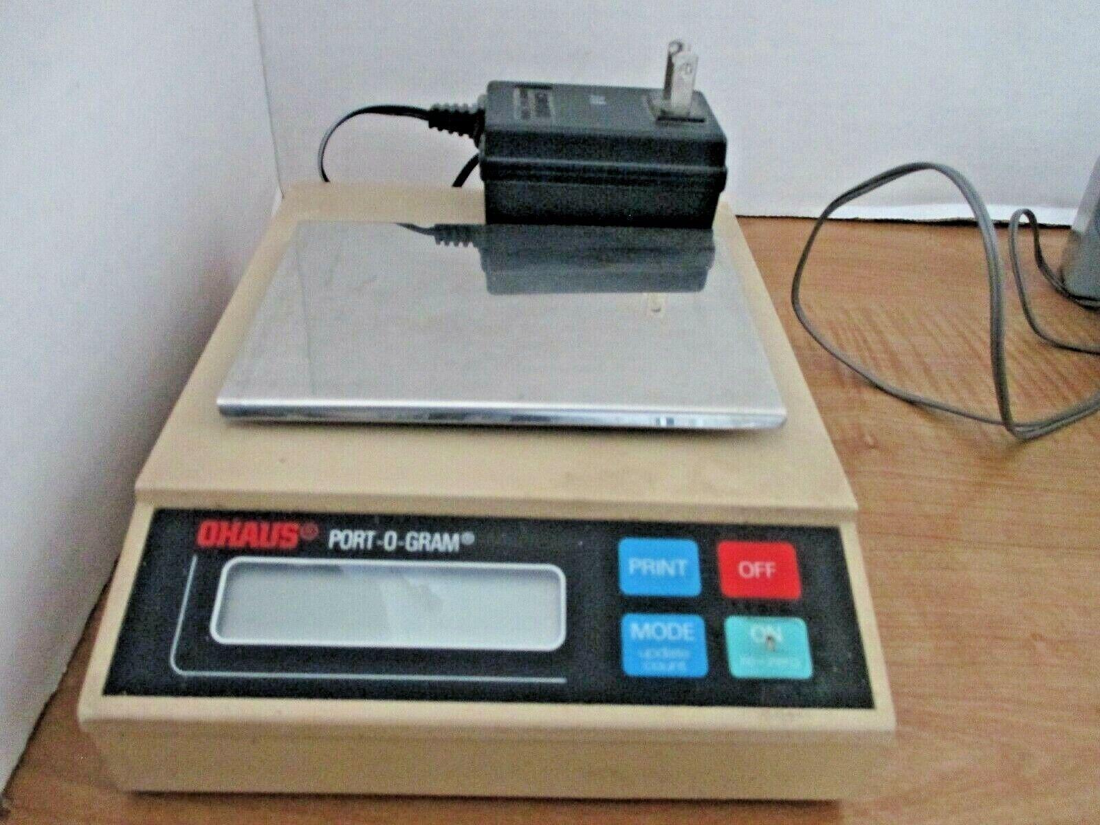 b61d933fd77c Ohaus Port-o-gram 300g Digital Scale Model C301P Working
