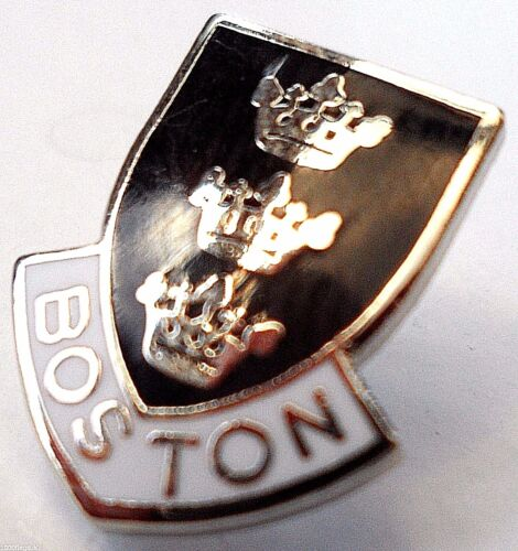 0596 Boston Town Lincolnshire County Crest Small Pin Badge