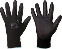 Mechanikerhandschuhe Nylon PU Handschuhe Montagehandschuhe Arbeitshandschuhe