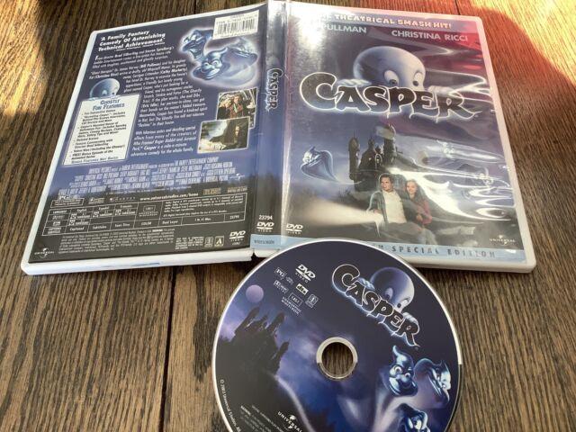 Casper (DVD, 2003, Widescreen Special Edition) Used Comedy Christina Ricci Fun