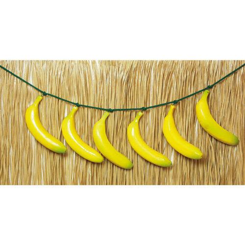 Bananengürtel Bananenschnur Hawaiikostüm Hulakostüm Zubehör Fruchtkostüm
