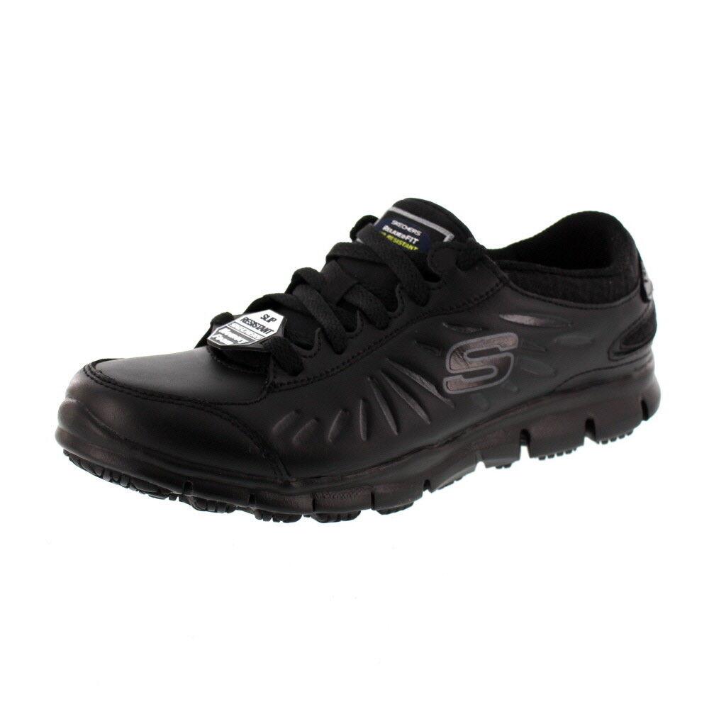 Skechers Travail Chaussures de Travail - Eldrouge 76551ec Noir