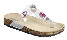 a509447d1 item 5 New Jeweled Rhinestone Clear T-Strap Open Toe Slides Shoe Flat  Sandal Flip Flops -New Jeweled Rhinestone Clear T-Strap Open Toe Slides  Shoe Flat ...