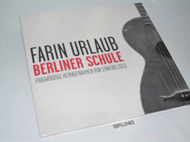 2 LP: Farin Urlaub - Berliner Schule, Fragwürdige... , NEU & OVP (A6/2)