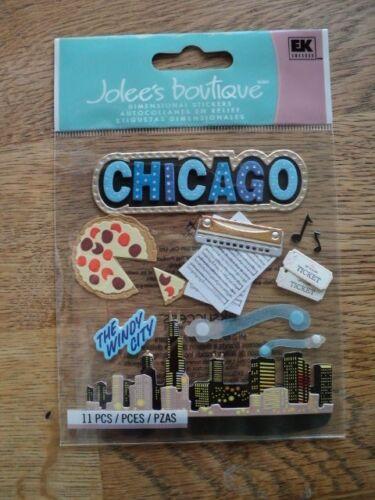 EK Success Jolee/'s Boutique dimensionales Pegatinas BNIP de Chicago