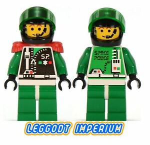 Lego-Space-Minifigures-Space-Police-II-Astronauts-Chief-minifig-FREE-POST