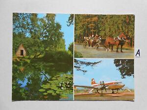 Carte Postale Vue Carte Saxe. Langenbernsdorf (kr. Werdau)-bernsdorf (kr.werdau) Fr-fr Afficher Le Titre D'origine