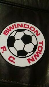 """Swindon town vintage large  6"""" inch sew patch"""