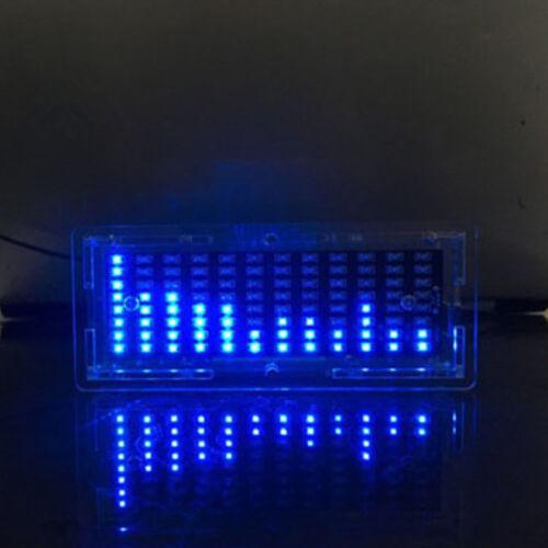 LED Music Spectrum Analyzer MP3 Amplifier Audio Level Indicator Display DIY Kit