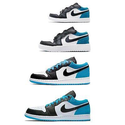 Nike Air Jordan 1 Low Racer Blue White Black Men Women Kids Family