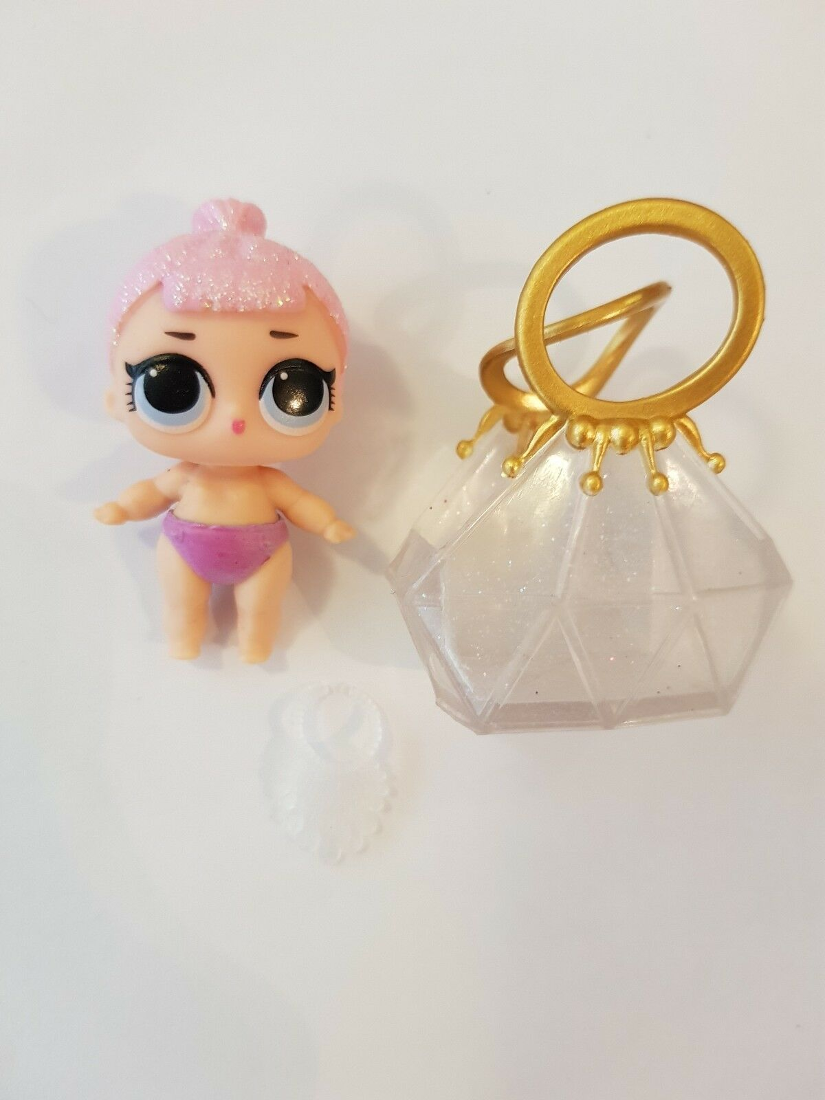 Lol Surprise Doll Lil Crystal Queen Series 2 Rare