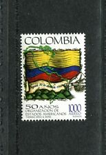 Colombia C902, MNH, Organization of American States, Flag 1998. x23598