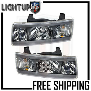 Image Is Loading Headlight Headlamp Pair Left Right Set For 02