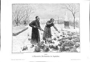 Le révérend à la chasse prêtre lapin Jules Denneulin peintre ILLUSTRATION 1900 - France - EBay The Reverend priest rabbit hunting painter Jules Denneulin ANTIQUE PRINTGRAVURE 100 % DÉPOQUE 1900 PORT GRATUIT EUROPE A PARTIR DE 4 OBJETS BUY 4 ITEMS AND EUROPE SHIPPING IS FREE (It's not a modern copy) IMAGE extraite d'un Journal ou d'un - France