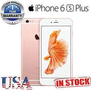 New Apple iPhone 6s Plus 64/128GB Unlocked Rose Gold Smartphone - Sealed Box