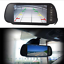 "New 7/"" LCD TFT Color Screen Car Reversing Backup Rear View Mirror Color Monitor"
