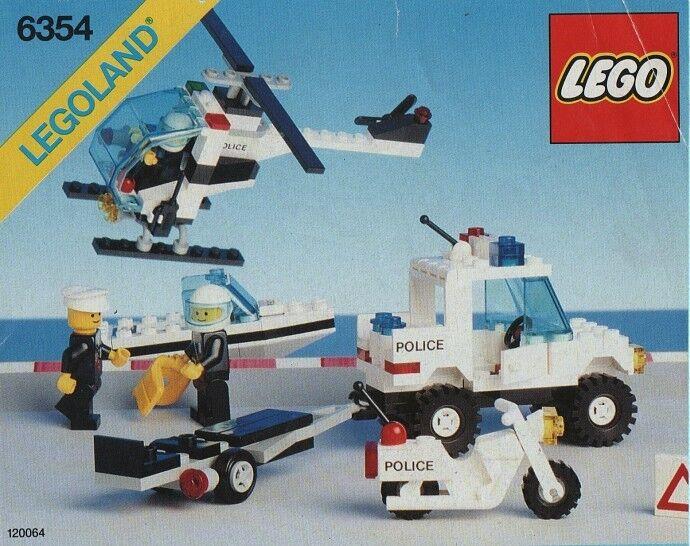 NEW Lego Classic Town 6354 Pursuit Squad LEGOLAND Sealed Police