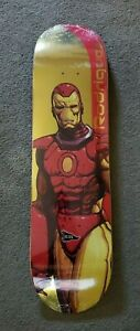 Primitive-Skate-x-Marvel-Paul-Rodriguez-Iron-Man-8-125-Skateboard-Deck-Gold-Foil