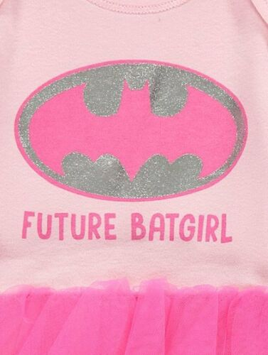 BABY GIRLS 3 Piece Batgirl Tutu  Party Costume//Fancy Dress//Outfit 0-6 Months