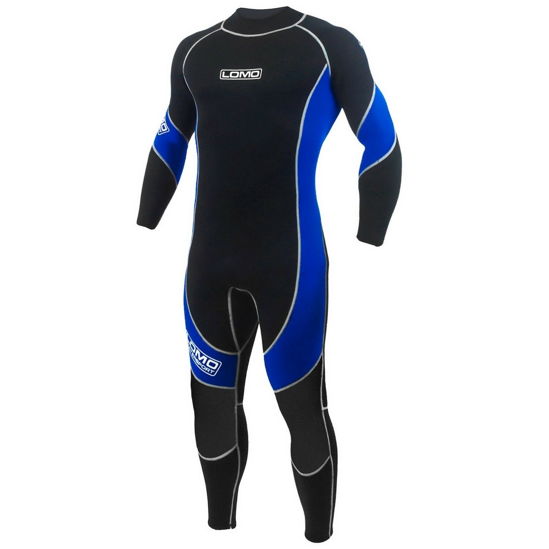 Lomo Watersport Mens All Season Neoprene Wetsuit Size M (Wide) High Grade NEW