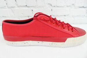 Details about PF Flyers Mens Red Low Top Shoes Size 11